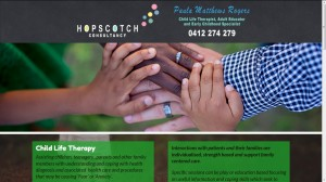 Hopscotch Consultancy - Paula Matthews Child Life Therapist