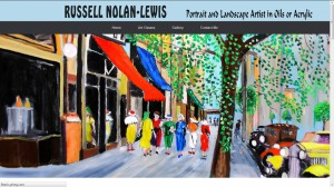 Russell Nolan Lewis - Artist | Painting classes Carrum Downs