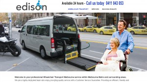 Edison Wheelchair Transport, Melbourne